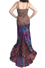 Mariposa Multi-Colour Gown, Dress, mirianbahareh,- REHEART Canadian Online Wardrobe-Sharing Platform