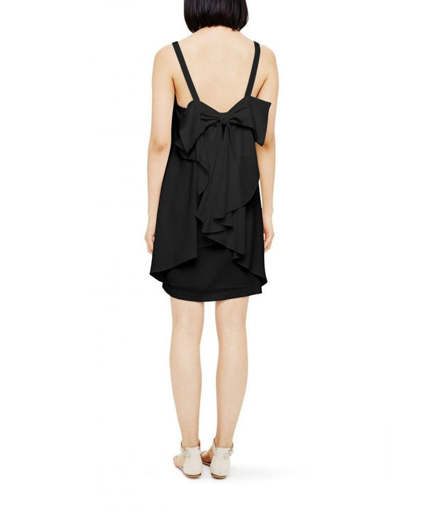 Davie Bow Dress, Dress, BlareJune,- REHEART Canadian Online Wardrobe-Sharing Platform
