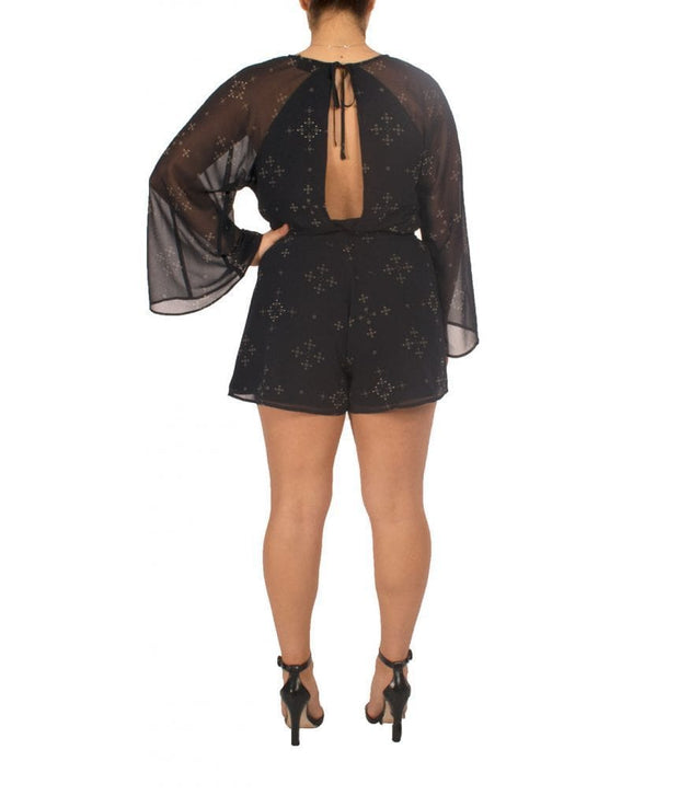 Star Constellation Playsuit, Romper, tcampoli_,- REHEART Canadian Online Wardrobe-Sharing Platform