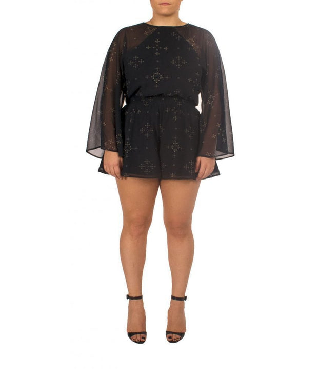 Star Constellation Playsuit - REHEART 💜 Canadian Online Wardrobe-Sharing Platform