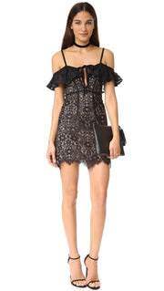 Rosemary Cold Shoulder Mini, Dress, julesss,- REHEART Canadian Online Wardrobe-Sharing Platform