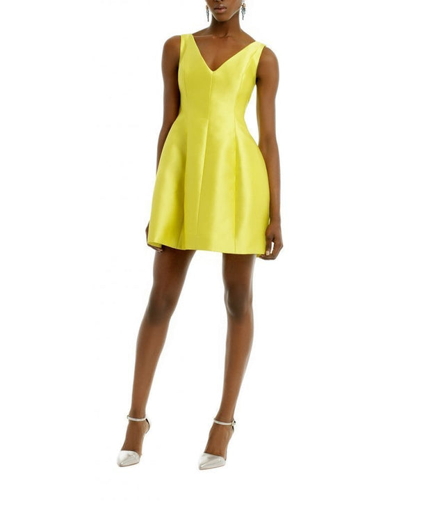 Jolt of Citron Dress, Dress, vmichaudz,- REHEART Canadian Online Wardrobe-Sharing Platform