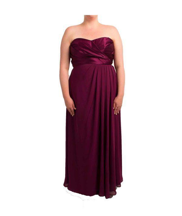 Strapless Plum Gown, Dress, CandiceB,- REHEART Canadian Online Wardrobe-Sharing Platform