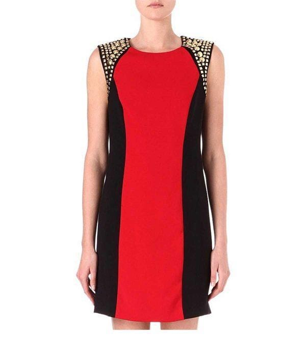 Colour Block Sheath Dress, Dress, kdifeo,- REHEART Canadian Online Wardrobe-Sharing Platform