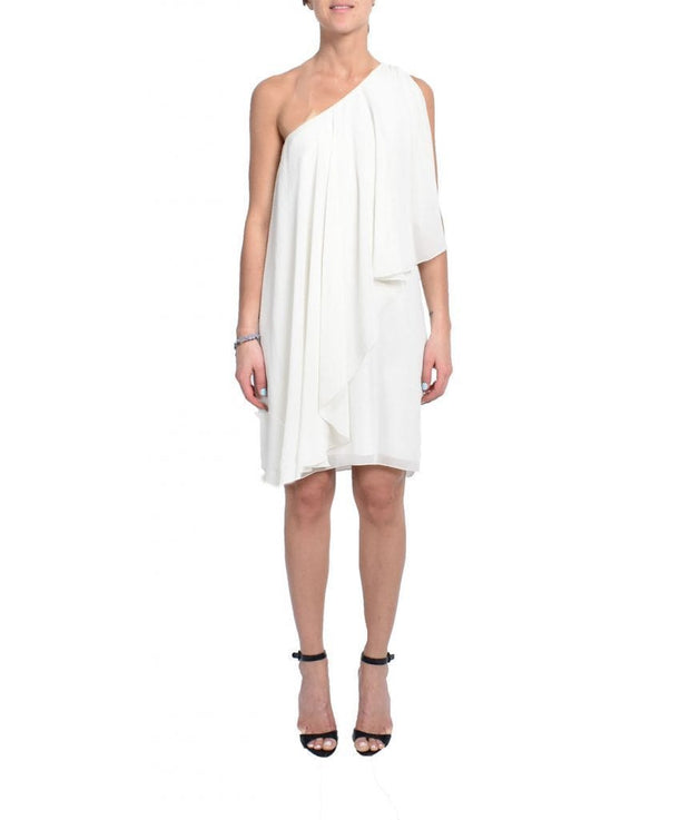 Tunic One Shoulder Butterfly Sleeve, Dress, biancagalati,- REHEART Canadian Online Wardrobe-Sharing Platform