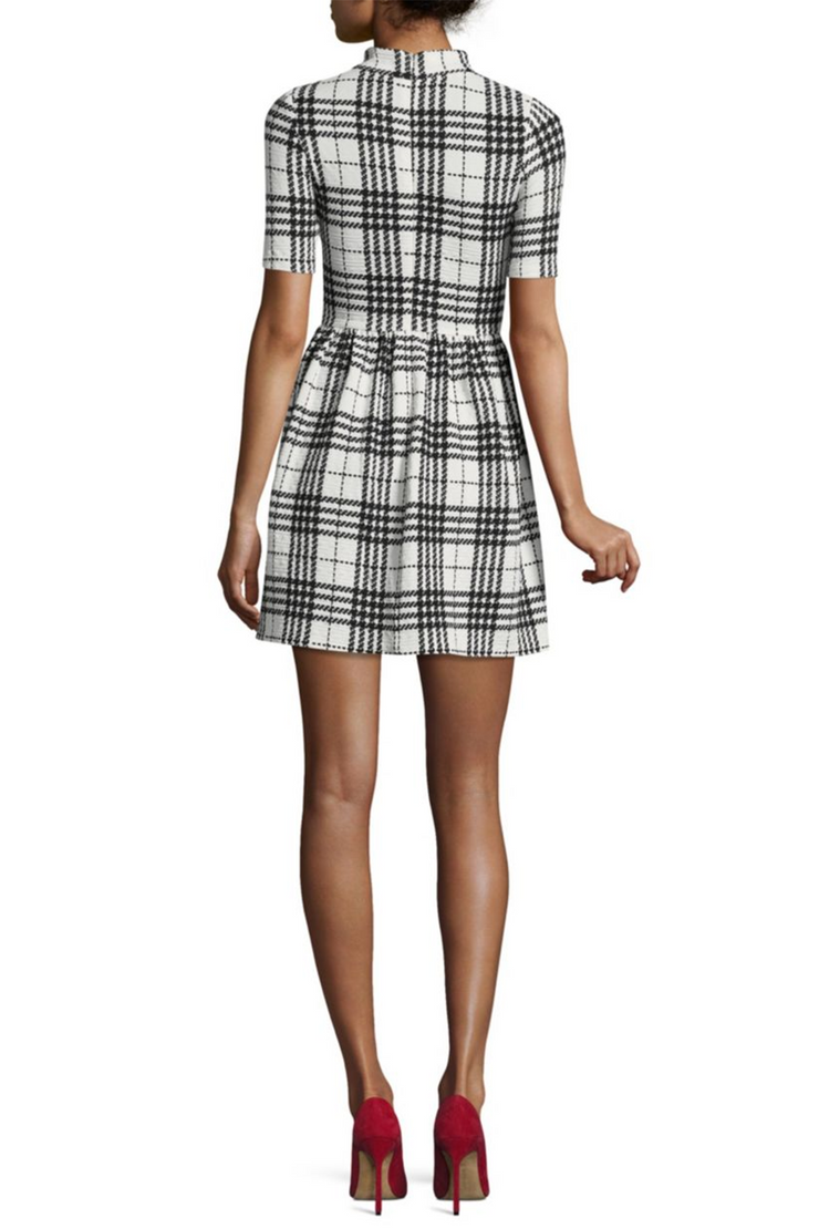 Plaid Mini Dress, Dress, vbelegrinis,- REHEART Canadian Online Wardrobe-Sharing Platform