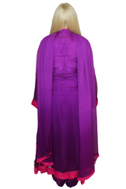 Purple and Pink Beaded Dress, Dress, _mariam_kha,- REHEART Canadian Online Wardrobe-Sharing Platform