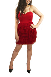 Cherry Ruffles Dress