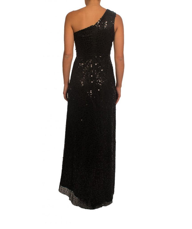 Sequin One Shoulder Gown, Dress, sarah_shalhoub,- REHEART Canadian Online Wardrobe-Sharing Platform