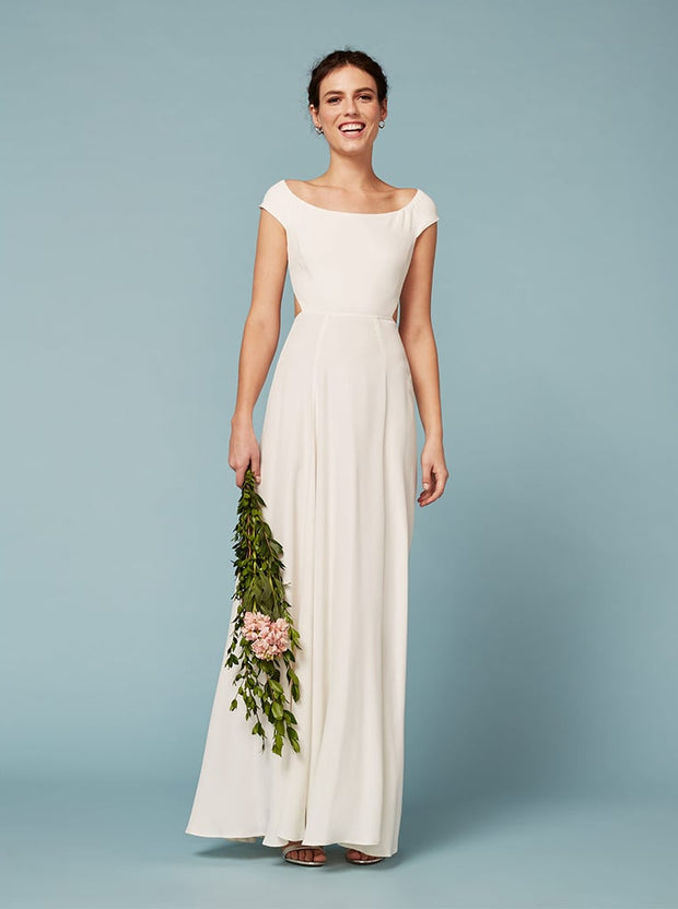 Sera Ivory Dress, Dresses, MsCloset,- REHEART Canadian Online Wardrobe-Sharing Platform