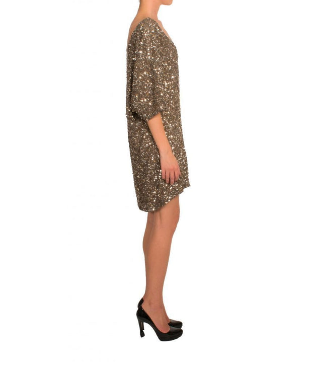 Sequin & Shine Oversized Mini, Dress, biancagalati,- REHEART Canadian Online Wardrobe-Sharing Platform