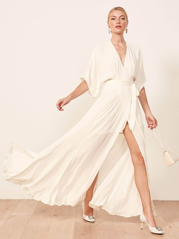 Winslow Ivory Dress, Dresses, pennylope,- REHEART Canadian Online Wardrobe-Sharing Platform