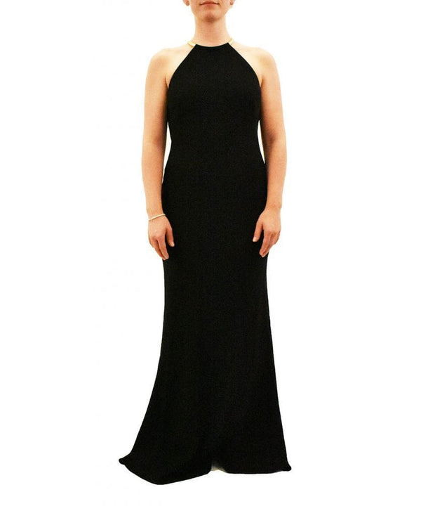 Crepe Halter Gown, Dress, VivienneSong,- REHEART Canadian Online Wardrobe-Sharing Platform