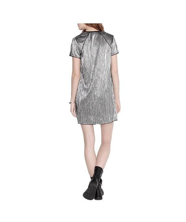 Metals Craze Silver Mini, Dress, olivbz,- REHEART Canadian Online Wardrobe-Sharing Platform