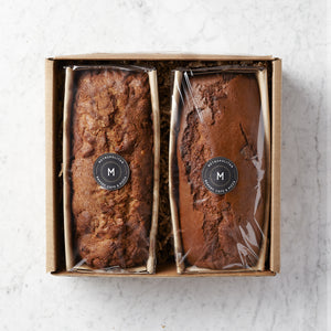 Autumn Pound Cake Duo Gift Box