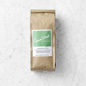 Green Street Metropolitan Bakery Blend Decaf