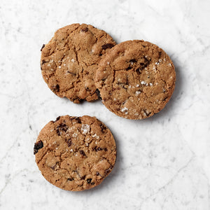 Sour Cherry, Sea Salt and Dark Chocolate Cookies