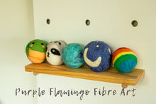 Felted Rattle Balls