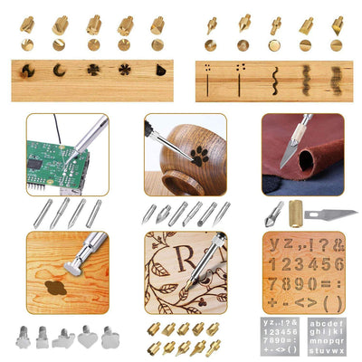 XXL Professional Wood Burning Set