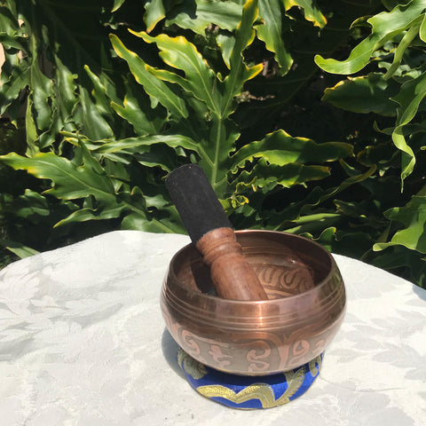 Small High Quality Casted Bowl with Copper Finish