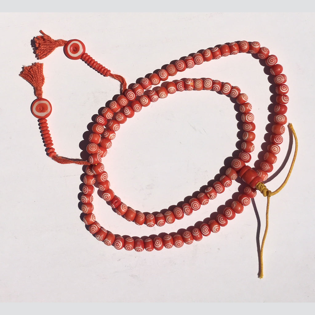 Prayer Beads Red With Protective Eye (PBRB-1)