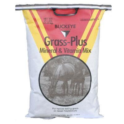BUCKEYE GRASS PLUS VITamin and Mineral Mix 20LB