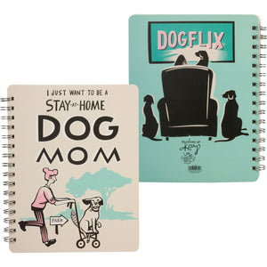 NOTEBOOK- STAY AT HOME DOG MOM