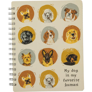 NOTEBOOK- DOG BREEDS