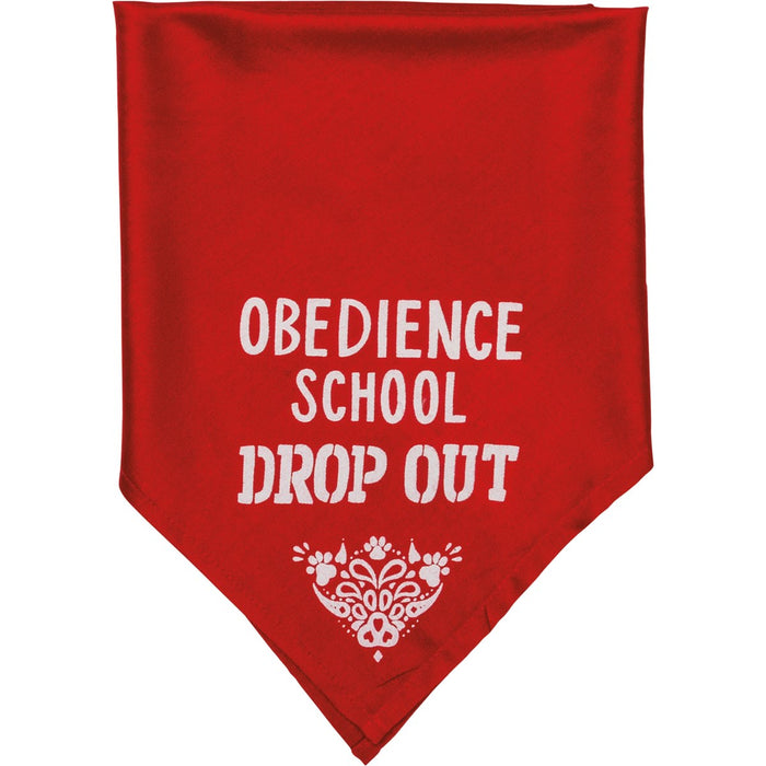 BANDANA- SM FLUNKED OBEDIENCE SCHOOL