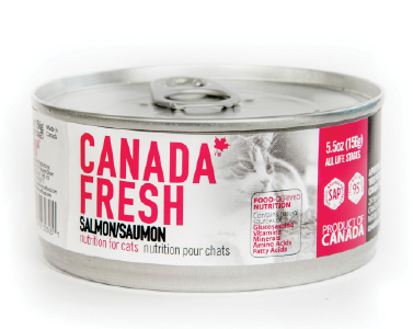 CANADA FRESH CAT CAN SALMON 156G