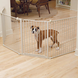 "CARLSON COVERTIBLE PET YARD 6-24"" PANELS  28"" TALL"
