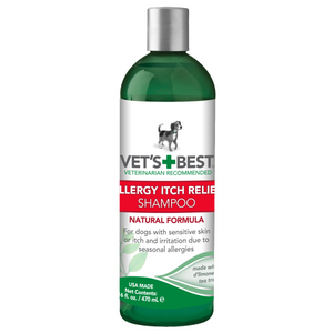 VETS BEST ALLERGY RELIEF  SHAMPOO 160Z