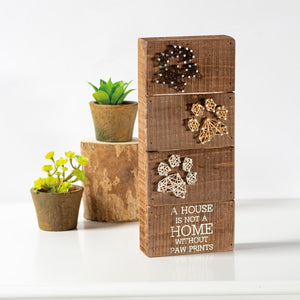 STRING ART- NOT A HOME WITHOUT PAWPRINTS