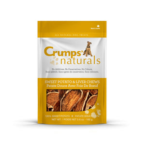 Crumps Sweet Potato/Liver Chews 330g