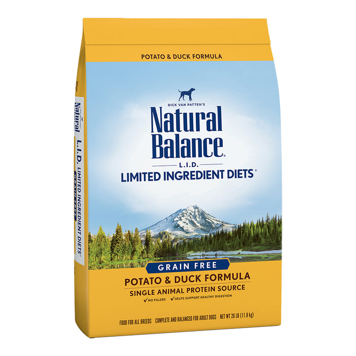 Natural Balance Dog - Duck & Sweet Potato 24lb