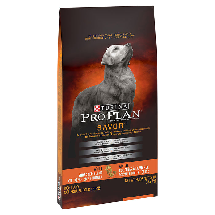 PRO PLAN DOG SHRED-CHICK/RICE 15.9KG