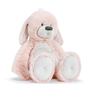 RATTLE POLLY PINK PUPPY STUFFY
