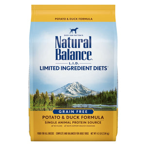 Natural Balance Dog - Duck & Sweet Potato 4.5lb