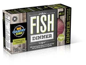 Fish Dinner 4 x 1lb Big Country Raw