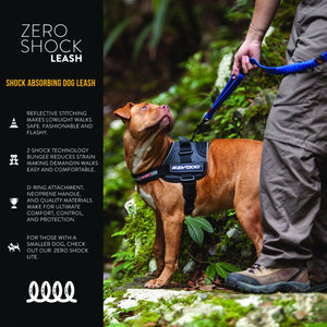 EZY DOG- ZERO SHOCK LEASH 25""