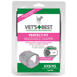 VETS BEST WASHABLE DIAPER - Female - XXS/XS