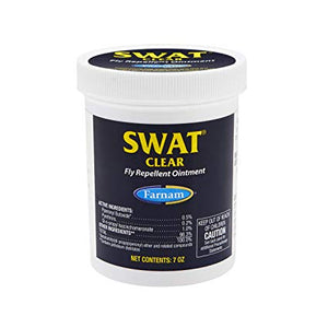 SWAT FLY REPELLENT OINTMENT 170GM CLEAR