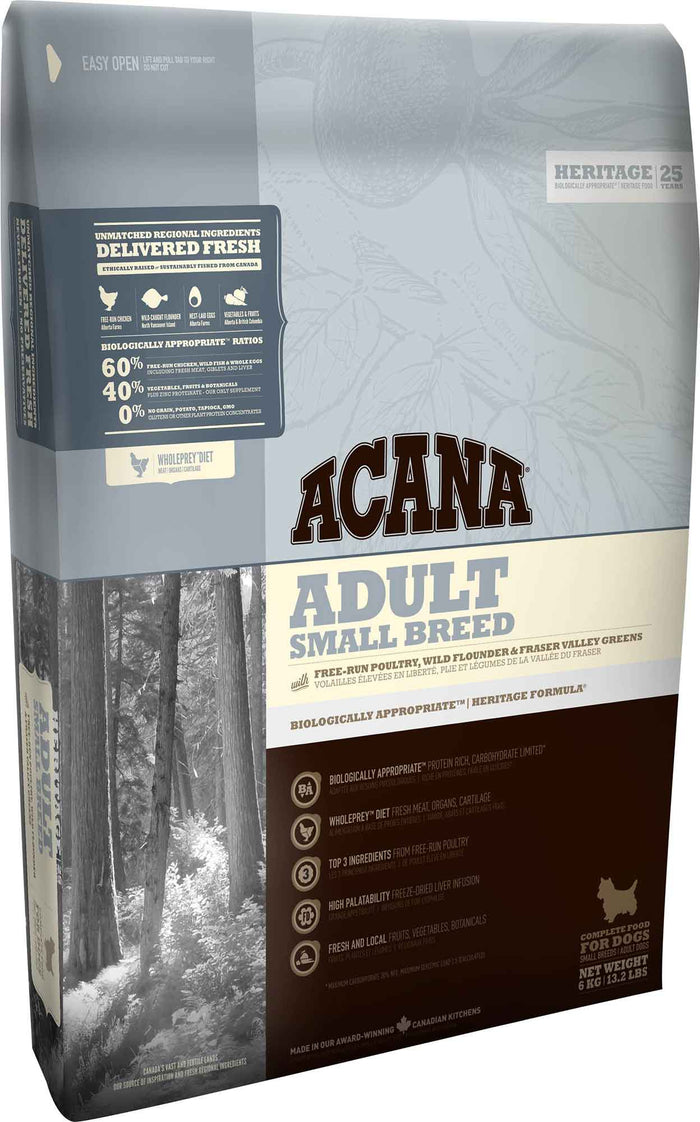 Acana Heritage Small Breed Adult 6kg