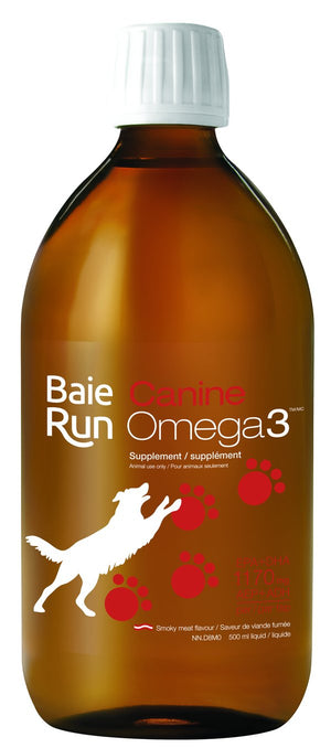 Baie Run  Canine Omega 3 Oil 200ml
