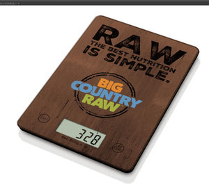 KITCHEN SCALE BIG COUNTRY RAW