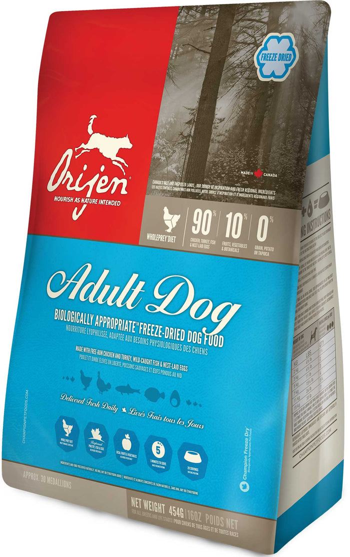 Orijen Freeze Dried Adult Dog 170G