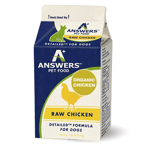 Dog Chicken Detailed 1 lb Answers
