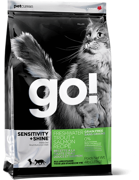 Go! Sensitivity & Shine Trout & Salmon Cat 4lb