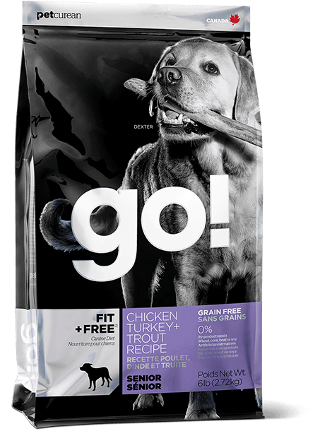 Go! Fit & Free Grain Free Senior 12lb