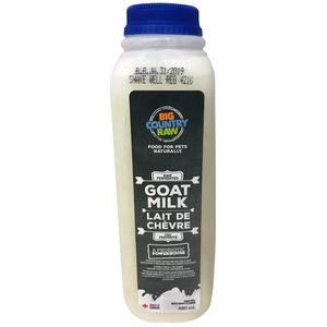 Goat Milk 490ml Raw Unpasteurized Big Country Raw